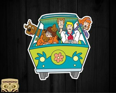 Pegatina Decal Sticker  Aufkleber Adesivi Autocollant Scooby Doo  Laminated