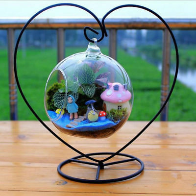 Hanging Stand Rack Holder for Hanging Glass Globe Air Plant Terrarium Witch Ball