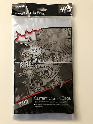Ultra-PRO Comic Bags (Bag of 100) Current (Modern) Size