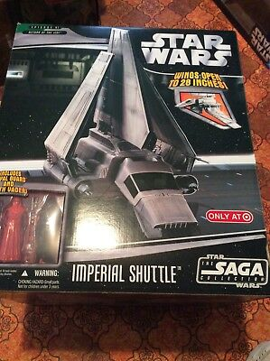Imperial Shuttle Saga Collection STAR WARS 2006 TARGET Exclusive MIB