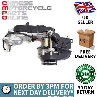 50cc Scooter 2-Stroke Engine 1PE40QMB with Rear Disc (ENG042)