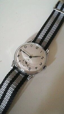 OMEGA 1930's Military Style unbranded case Mens Wrist Watch
