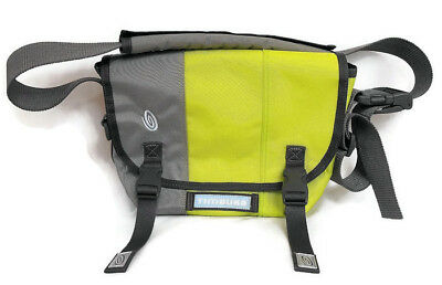 7238b0767f15 Timbuk2 Custom Classic Messenger Bag Size Small Gray and Yellow Briefcase