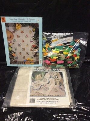 Cross Stitch: Country Garden  - Dimensions