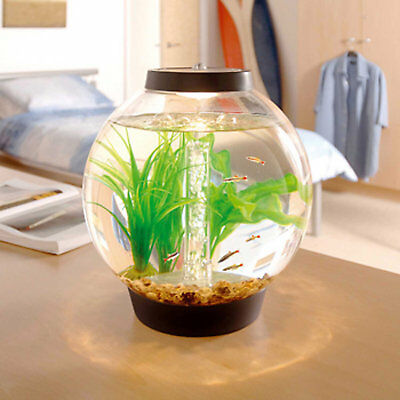 baby biOrb 4 Gallon Aquarium Kit with Light, Black