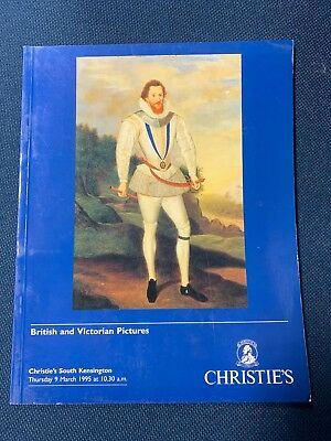 Christie's South Kensington British and Victorian Pictures March 1995 catalog