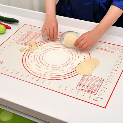 Silicone Baking Mat Kneading Dough Rolling Pad Non Stick Cooking Tools Pads