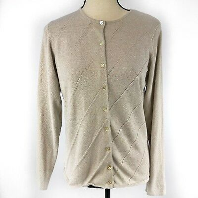 bd05c48adb Van Heusen Womens Cardigan Size S Brown Long Sleeves Button Down Sweater Top