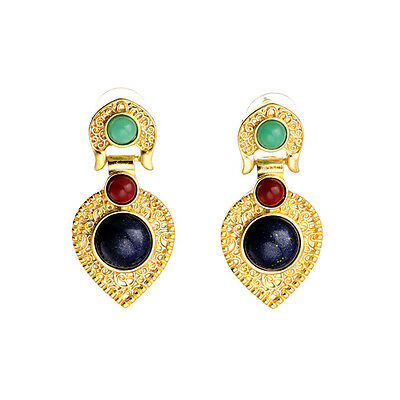 Kiss me Luxury Gold Plated Earrings Fashion Jewelry For Women Accessory ed00801