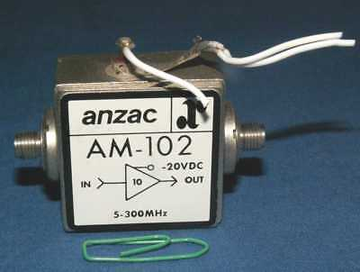 Anzac AM-102 Amplificateur 5-300MHz