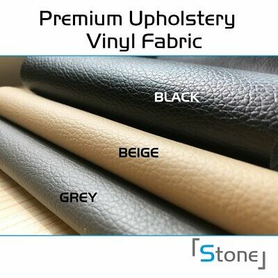 """54""""W Faux Leather Premium Marine Vinyl Fabric Upholstery Car Boat Seating Cover"""