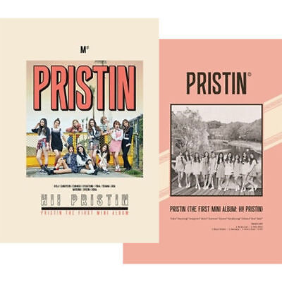 PRISTIN [HI! PRISTIN]1st Mini Album (Random) CD+PhotoBook+P.Card+Sticker K-POP