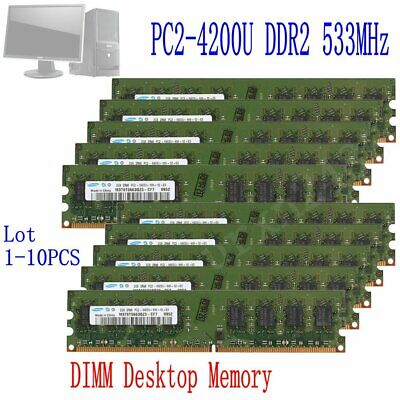 16GB 8GB 4GB 2GB DDR2-533Mhz PC2-4200 Intel CPU Desktop Memoria For Samsung IT