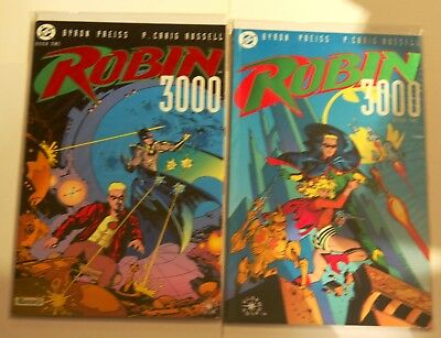 Robin 3000 complete set of 2, DC 1992, Byron Preiss / P. Craig Russell NM