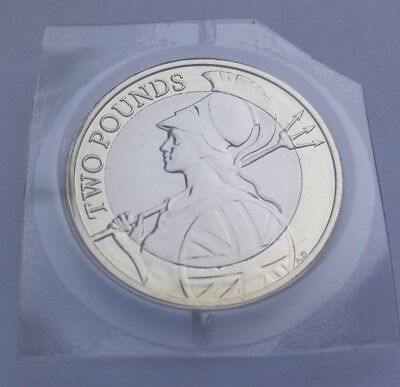 2017 Royal Mint Britannia Definitive £2 Two Pound Coin BU - BUnc -  Unreleased