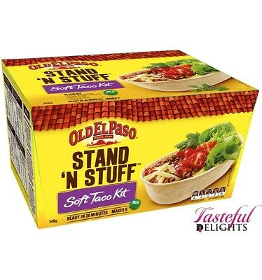 Old El Paso Soft Taco Kit 348g
