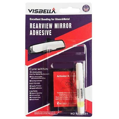 Professional Strength Permanent Windshields Rearview Mirror Adhesive Glue New