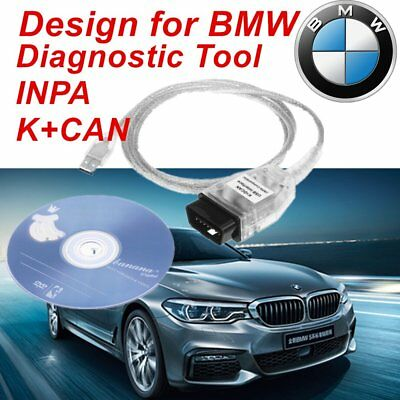 For BMW INPA/Ediabas K+D-CAN /DCAN USB Interface OBD2 EOBD Diagnostic Cable KB