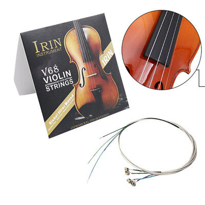 Full Set (E-A-D-G) Violin String Fiddle Strings Steel Core Nickel-silver Wound^P