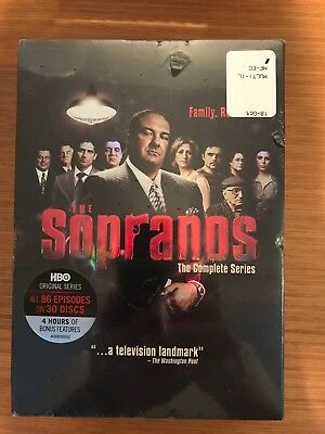 The Sopranos: The Complete Series (30 Disc DVD Box Set, 2014) - Region 1 NEW