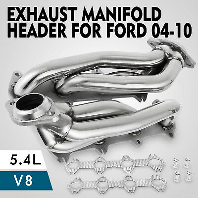 For Ford F150 2004-2010 5.4L V8 Exhaust Manifold Headers (Fits: Ford 5.4L)