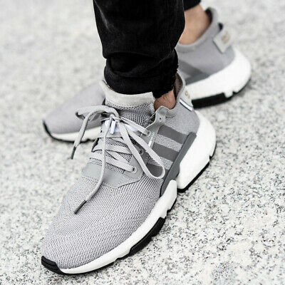 new product 816d9 81488 ADIDAS POD-S3.1 Sneaker chaussures hommes sport loisir basket gris course  CG6121