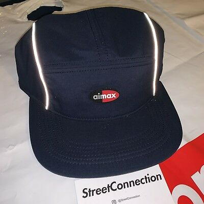 5323f4f28e7c6 Supreme x Nike Air Max 98 Navy Blue Running Hat Cap Box Logo SS16 Box Logo