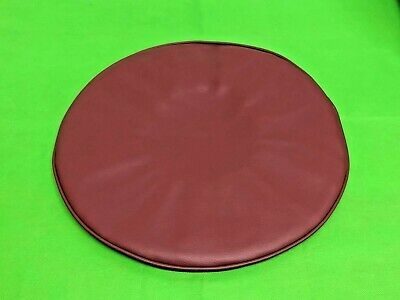 Vespa & Lambretta Leather Oxblood Design Spare Wheel Cover 10 Inch