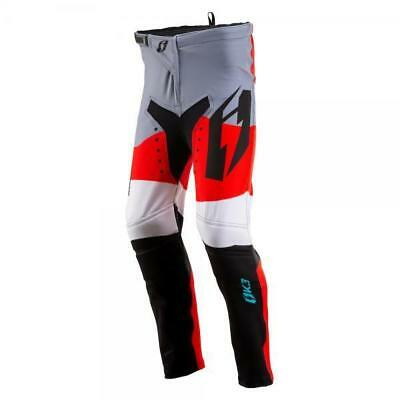 Oset Jitsie Kids Child's Trials Trousers Bottoms Red Grey White Riding Kit Large