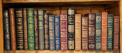 EASTON PRESS LEATHER BOUND BOOKS (never opened)  pick  1 or more    $60.00 ea.