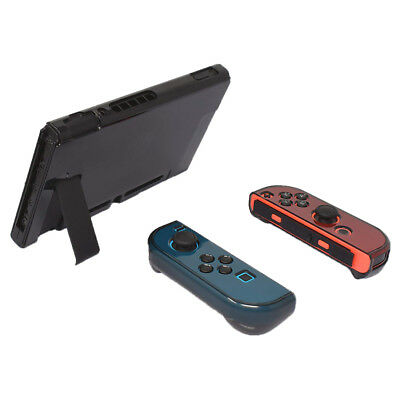 Split Shockproof PC With Screen Protector Lightweight Thin For Nintendo Switch