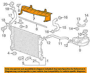 Chevrolet GM OEM 16-18 Malibu Radiator Core Support-Upper Bracket Right 23348659