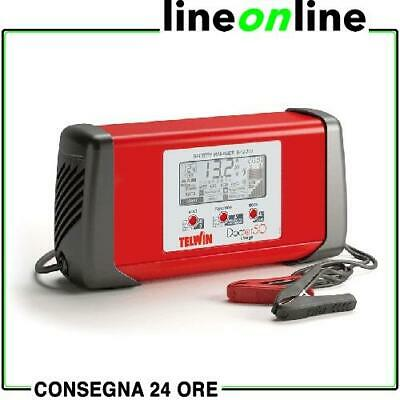 Caricabatterie auto TELWIN Doctor Charge 50 807598 Mantenitore e Avviatore