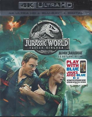 Jurassic World Fallen Kingdom (4K Ultra Hd/bluray)(2 Disc Set)(Used)
