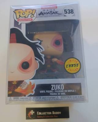Limited Chase Funko Pop! Animation 538 Avatar The Last Airbender Zuko Pop Vinyl
