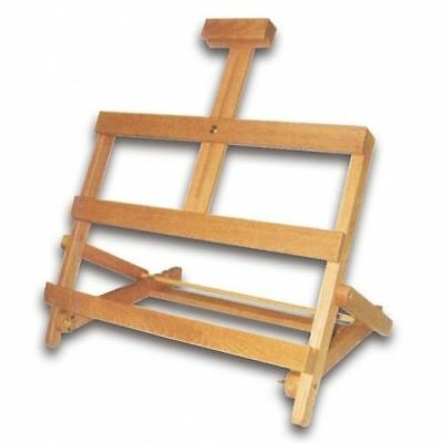 Portable Easel Artist Wood Desk Painting Sketch Drawing Art Tripod Stand Display