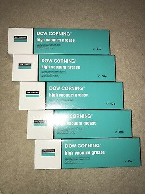 5 off - Dow Corning High vacuum grease - (50 gram tube)