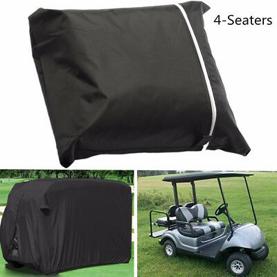 Car Body Cover Sun-proof Dust-proof Car Protective Cover For 4 Seats Golf Cart