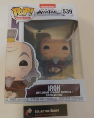 Funko Pop! Animation 539 Avatar The Last Airbender Iroh Pop Vinyl Figure FU36467