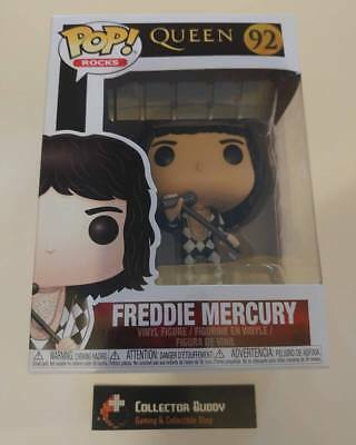 Funko Pop! Music Rocks 92 Queen Freddie Mercury Pop Vinyl Action Figure FU33731
