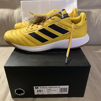 more photos 433e8 d9d3c Kith x Adidas Soccer Copa 17 Turf Trainer Cobras Yellow DS Size 10.5