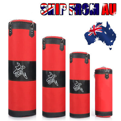 Heavy Duty Punching Training Bag MMA Boxing Martial Arts Kicking Sandbag Chain A