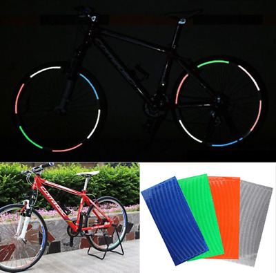 Motorcycle Bicycle Reflector Security Smiley Face Decal Tape Reflective-Stickers