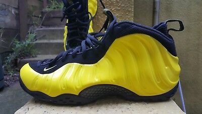 official photos b437a b53b8 NIKE AIR FOAMPOSITE One Wu Tang Clan Black Yellow 314996-701 Men's Size 13
