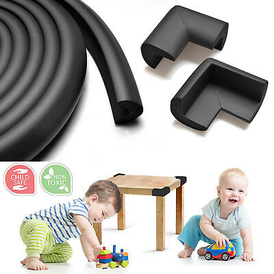 Baby Proofing Edge & Corner Guards 15ft Foam Protector Bumpers Corners Cushion