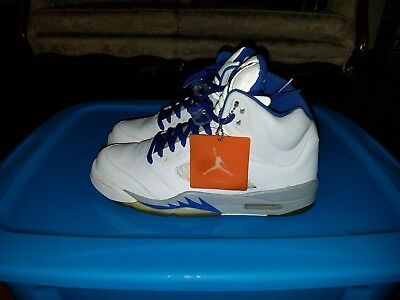 separation shoes 7a733 4c658 VNDS 2006 NIKE AIR JORDAN 5 V RETRO white sport royal-stealth 136027-