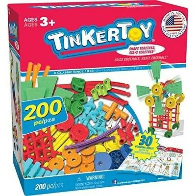 be6f230002cb2 Tinker Toys  Building Toy Kids Tinkertoy Wooden Classic Preschool  Educational