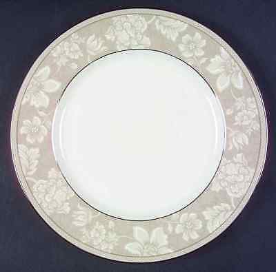 Noritake New Lineage II Bone China Rosella Taupe 10 1/2 Inch Dinner Plate New
