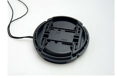 77mm center pinch snap on Front Lens Cap Cover for Canon Camera Lens