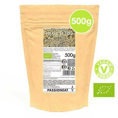 Semi di Canapa decorticati Biologici - 500g